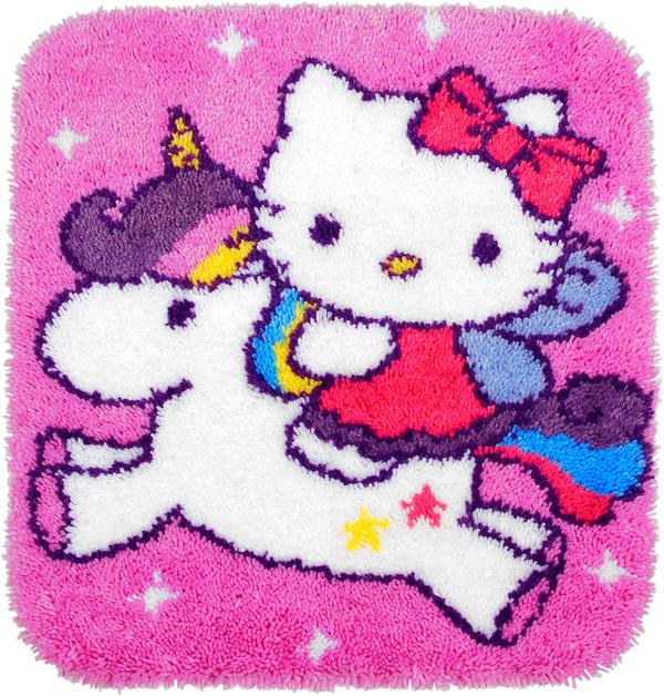 Ryamatta Hello Kitty på enhörning