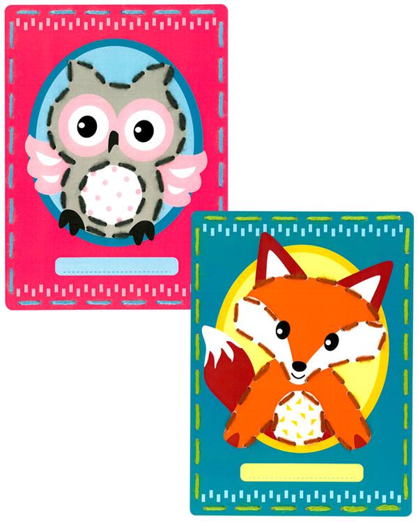 Kortit Kettu ja pöllö 2/pak