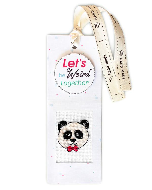 Bogmærke Stilfuld panda