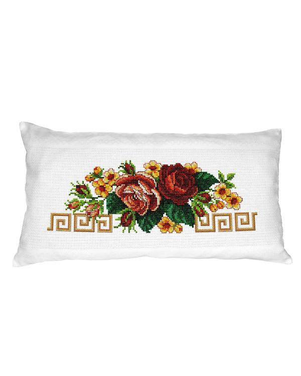 Tyynynpäällinen ruusukimpu