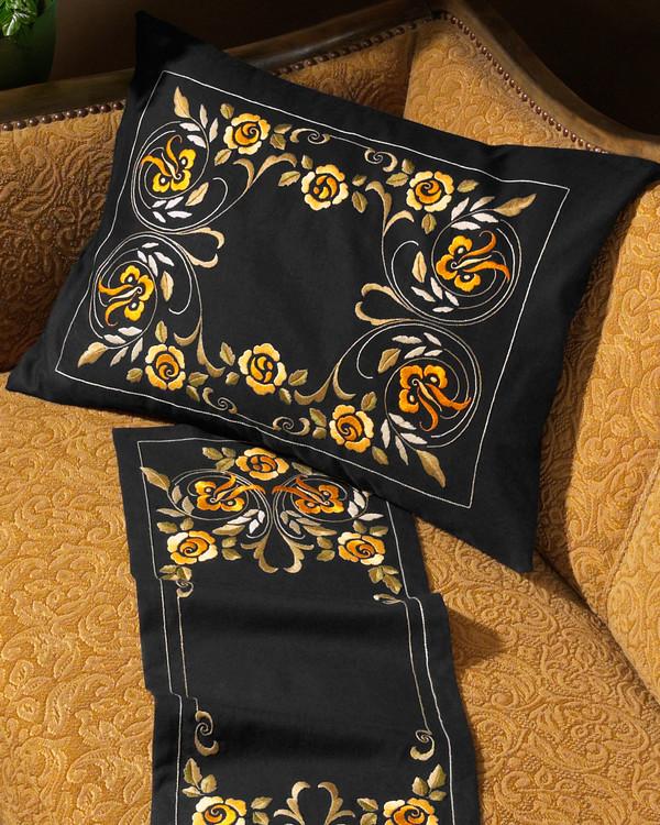 Tyynynpäällinen Keltaiset kukat