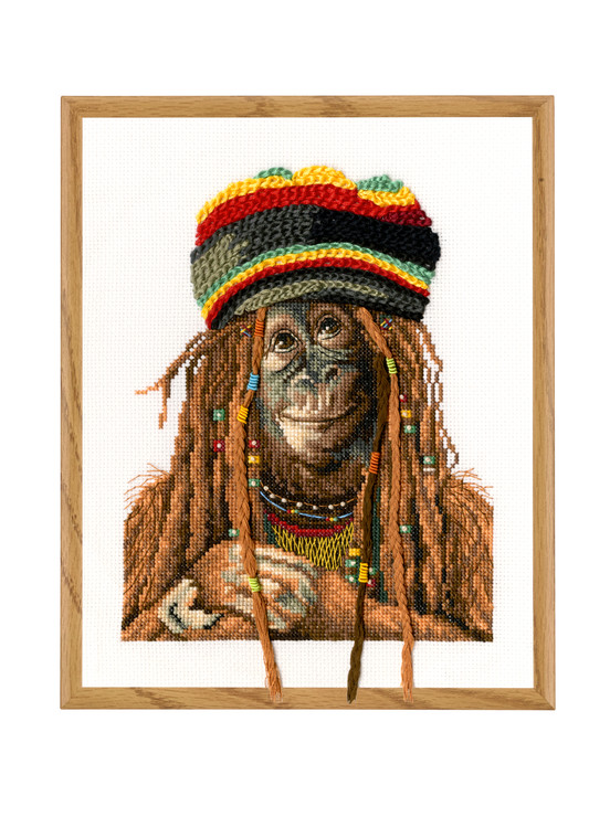 Broderikit Tavla Rastafari