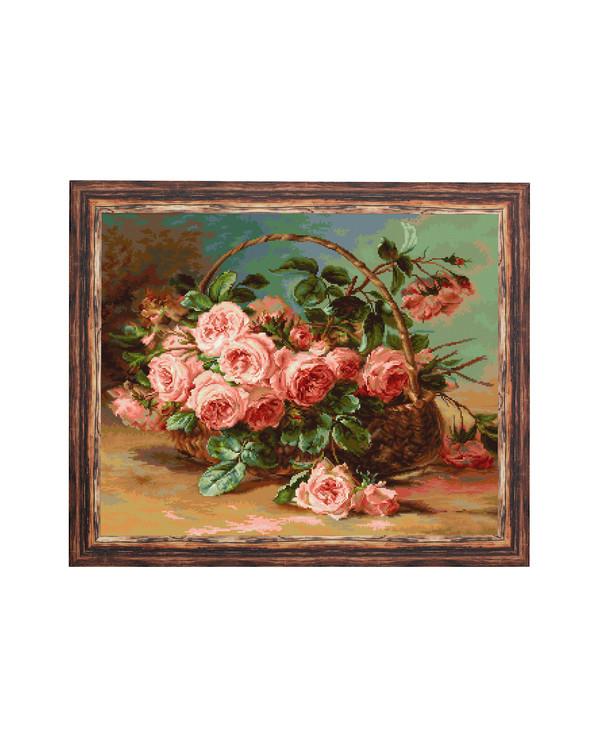 Billede Kurv med roser