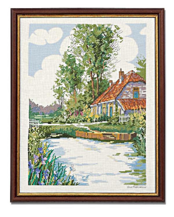Billede Huset ved åen