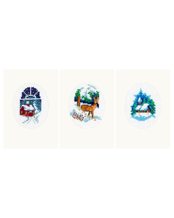Karten Winter 3-er Pack