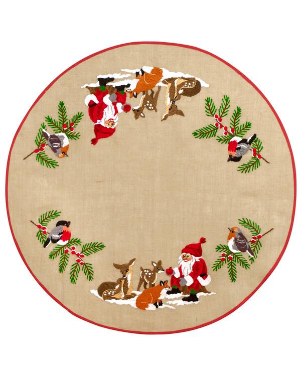 Julgransmatta Möte i skogen
