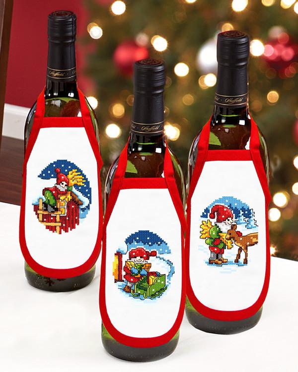 Flaskeforklæder Juletid