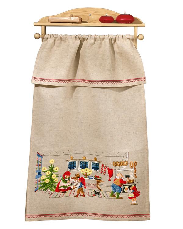 Paradehåndklæde I nissens køkken