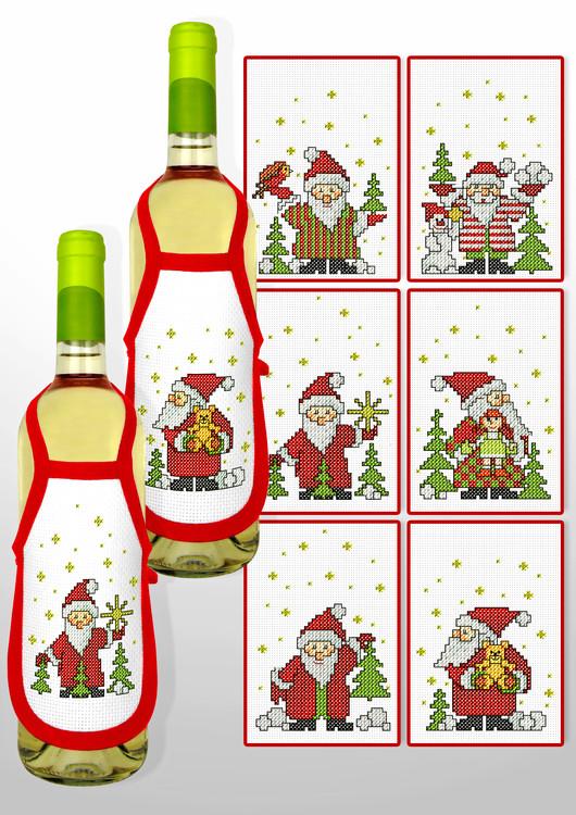 Flaskeforkle Jul 2-pk