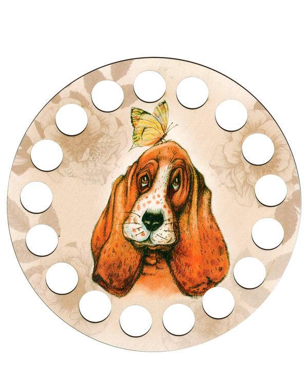Lankajärjestin pyöreä koira