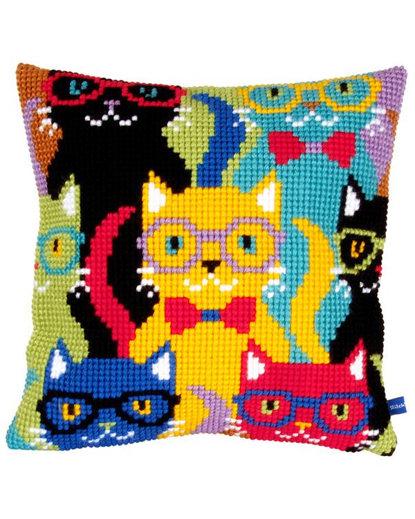 Pude Katte i alle farver