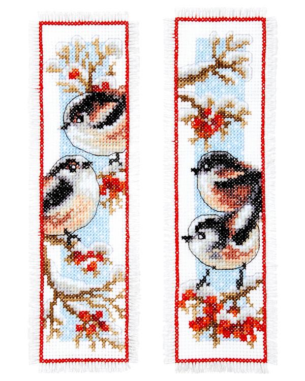 Bokmärke Fåglar 2-pack