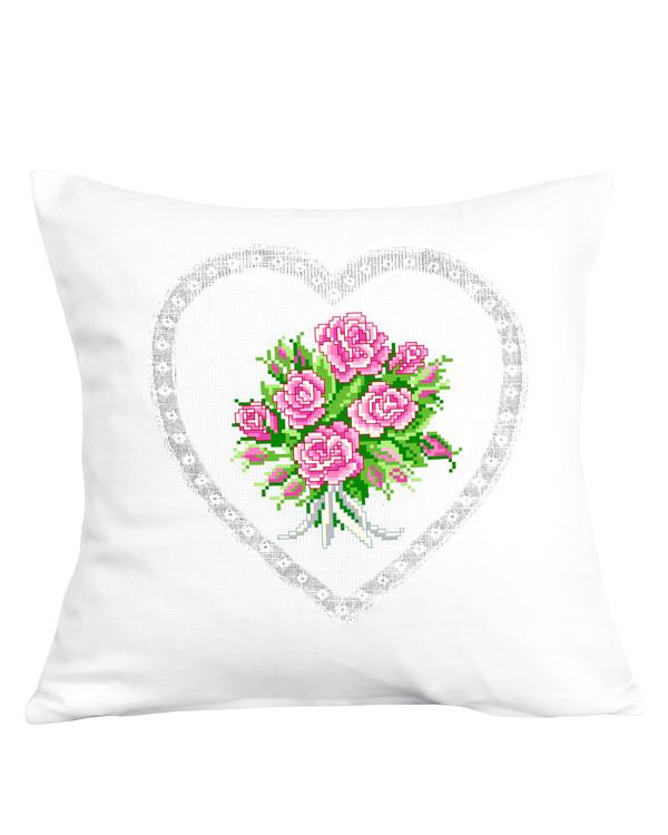 Tyynynpäällinen Ruusukimppu
