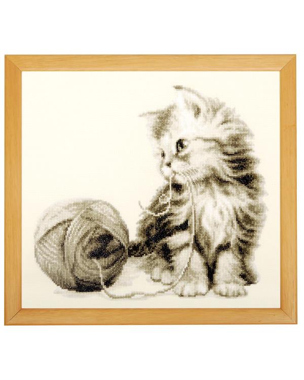 Taulu Kissan lankakerä
