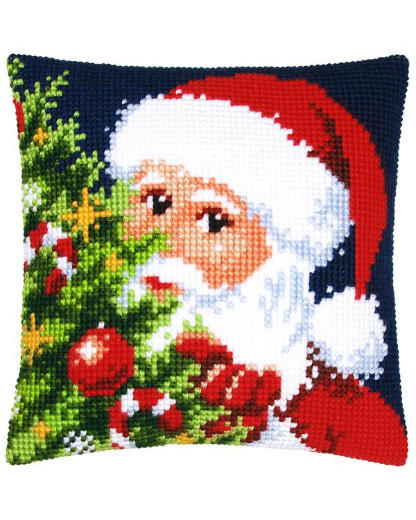 Kissen Weihnachtsmann