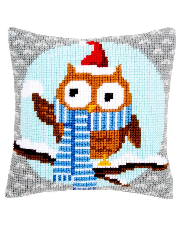 Tyynynpäällinen Joulupöllö