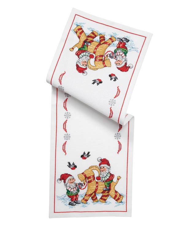 Broderipakke Løper Julebukken