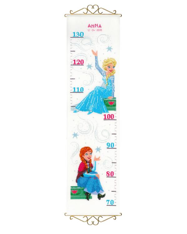 Måleveggteppe Anna og Elsa