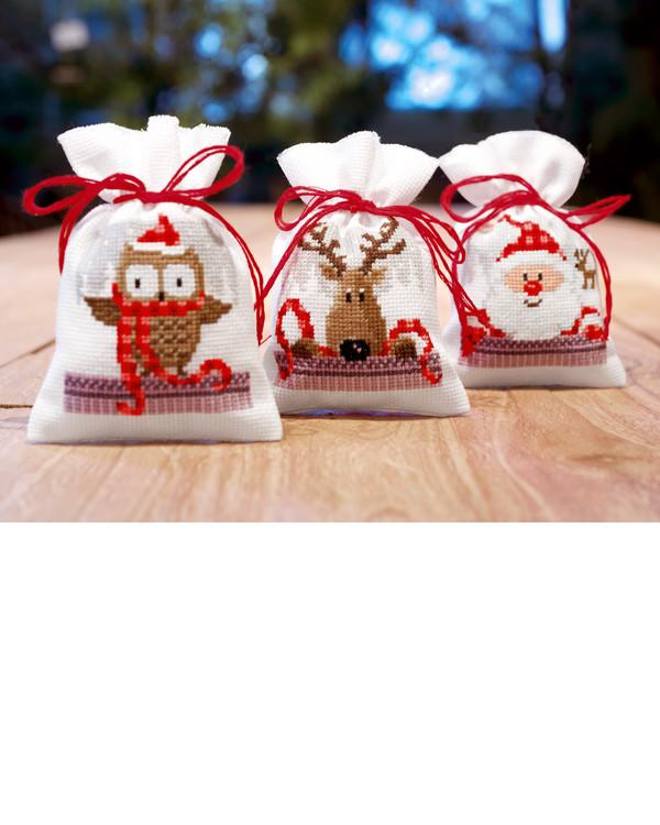 Doftpåsar Julens vänner 3-pack