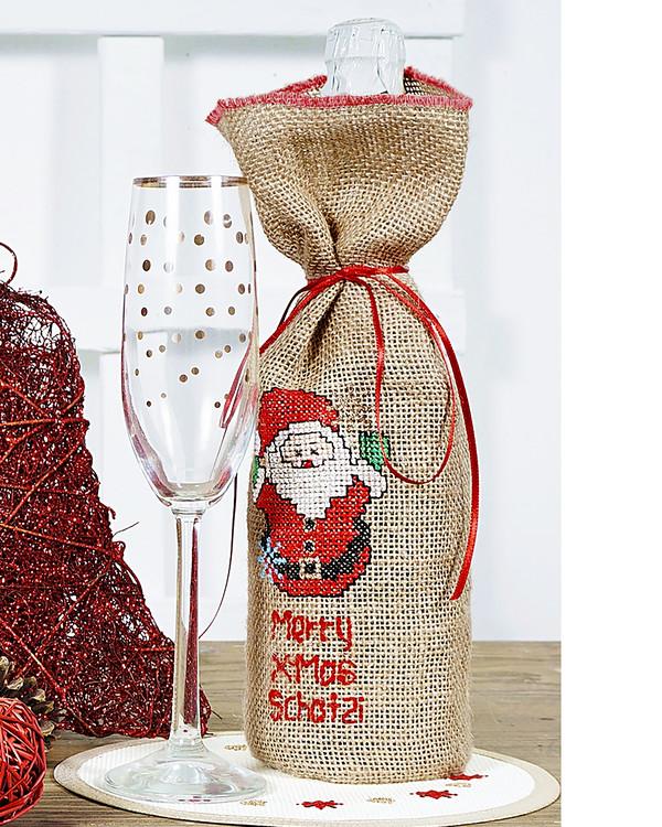 Flaskepose God jul