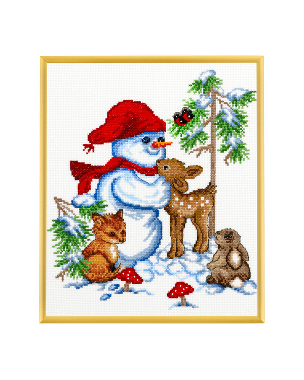 Billede Snemandens venner