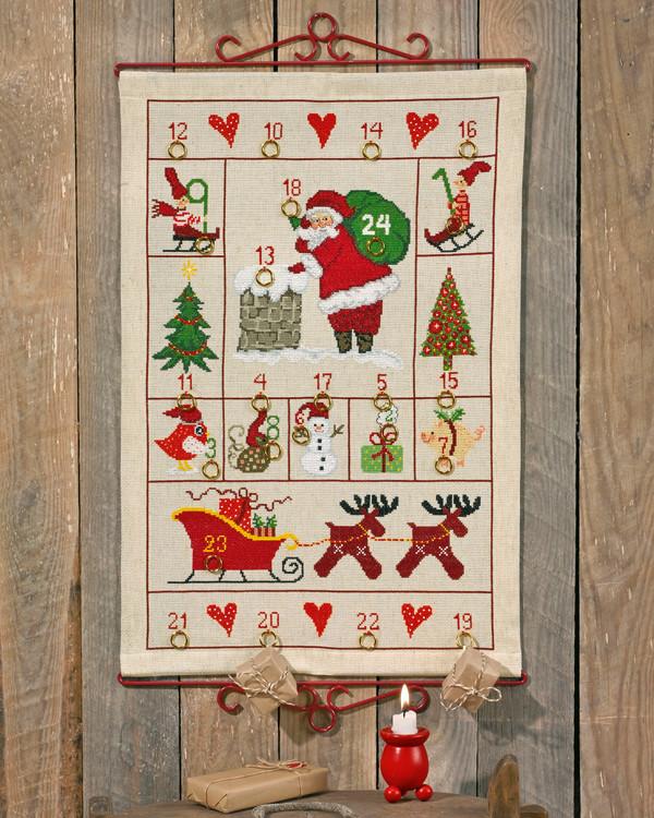 Kalender Julemotiv