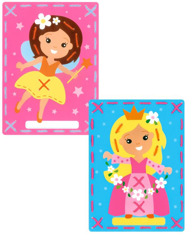 Kort Prinsesser 2-pk
