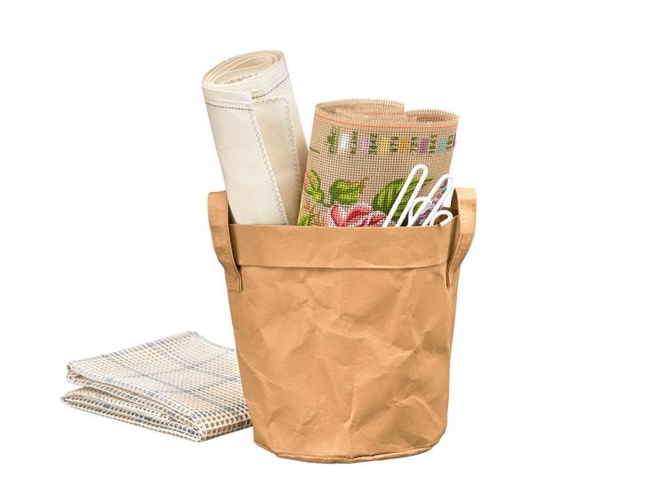 Oppbevaringspose uten garn og mønster