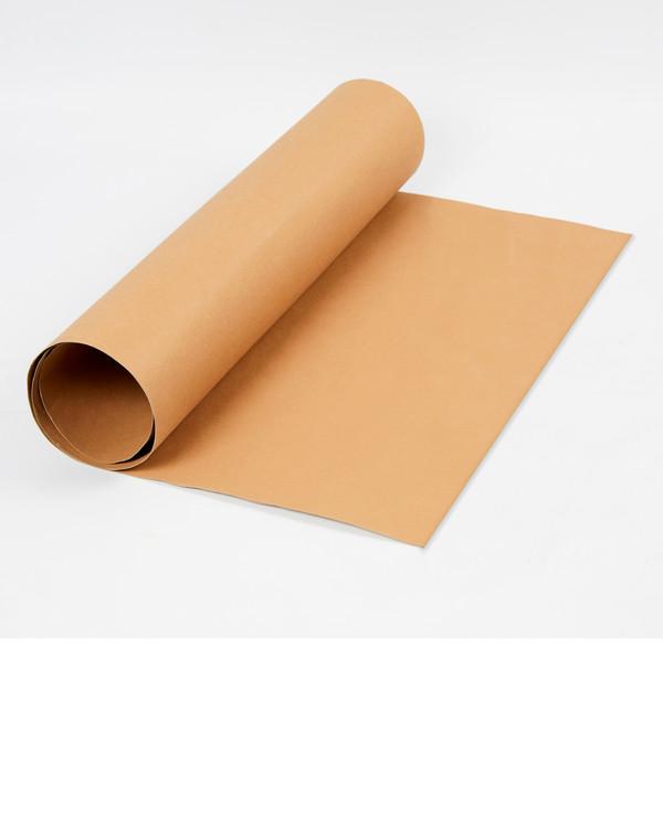 Lederpapier braun ohne Garn und Vorlage
