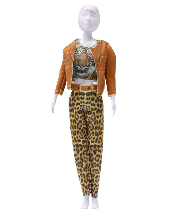 Dress your doll Outfit Kitty tiger