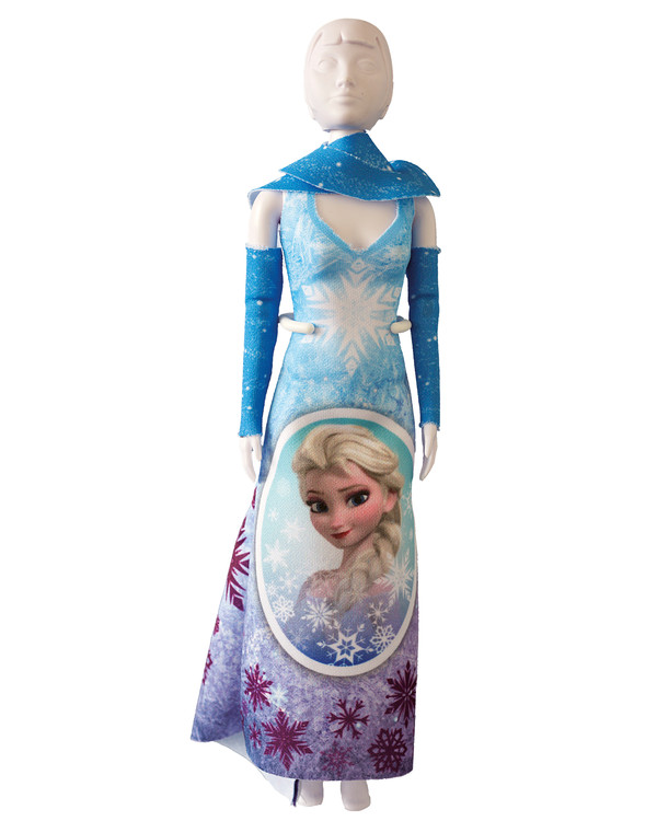 Dress your doll Outfit Mary frozen magic