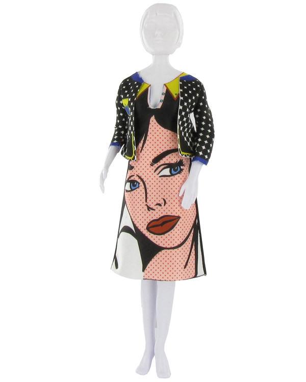 Dress Your Doll Outfit Lizzy Pop Art
