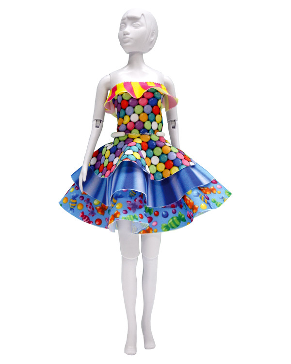 Dress your doll Outfit Maggy candy
