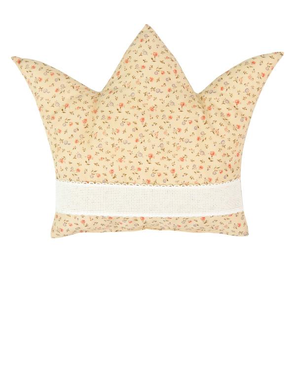 Kuddfodral Krona gul