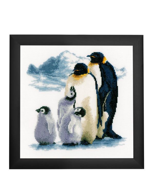 Bilde Pingvinfamilien