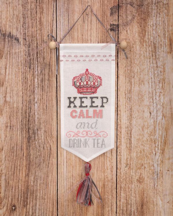 Veggteppe Keep calm