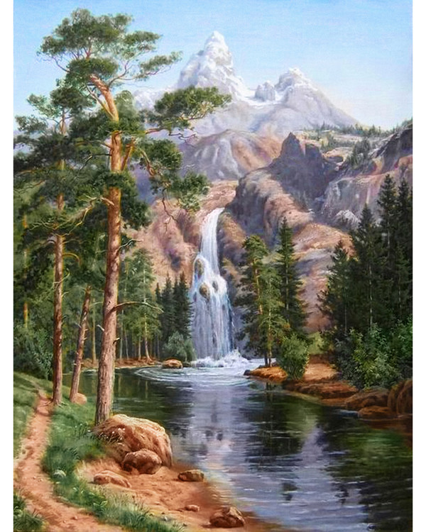 Diamond painting Foss
