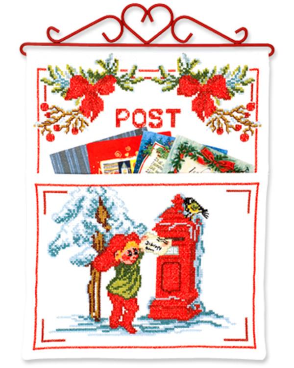 Weihnachtspost Briefkasten
