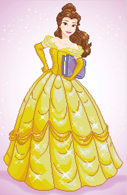 Diamond Painting Belle
