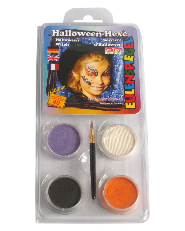 Kasvovärisetti Noita/Halloween