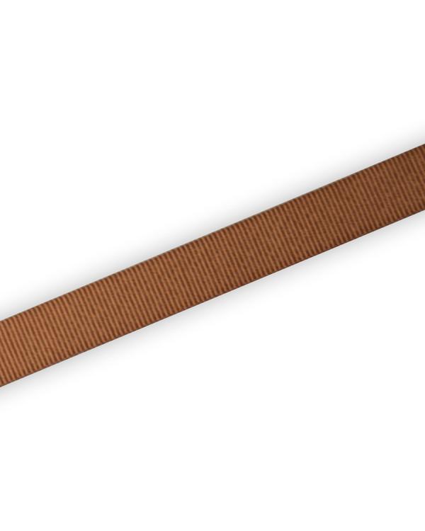Grosgrainband Brun 15mm