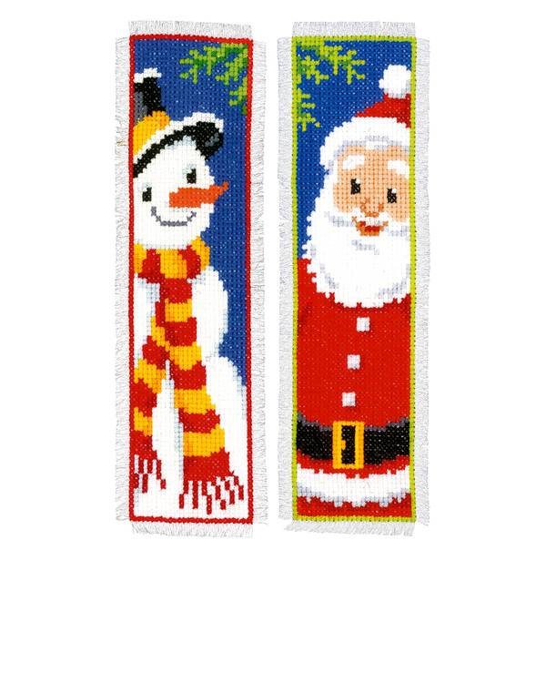 Lesezeichen Weihnachtsmotive 2-er Pack