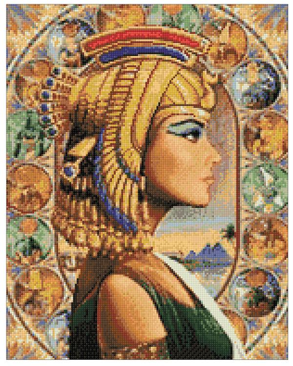 Diamond painting Kleopatra