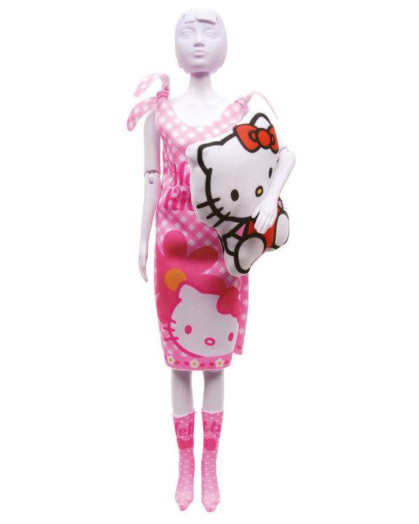 Dress your doll Outfit Hello Kitty Sleepy