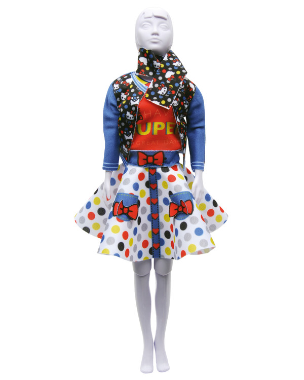Dress your doll Outfit Hello kitty Lucy