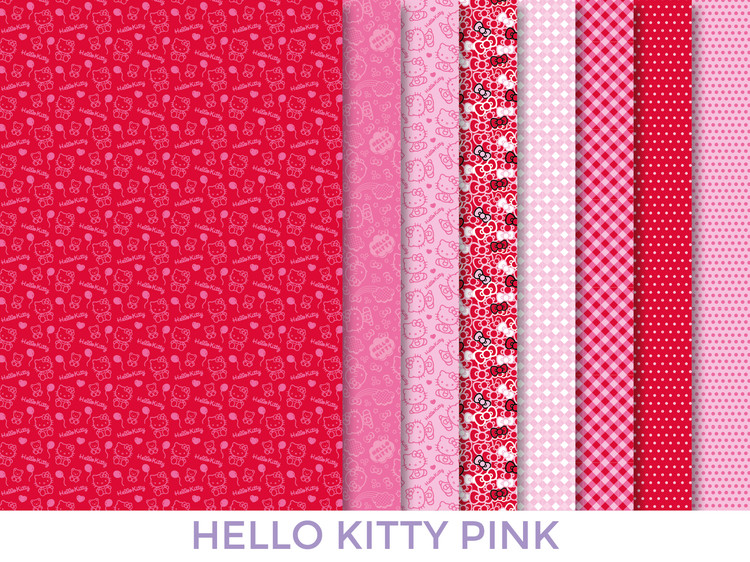 Dress your doll Kangassetti Hello kitty pink