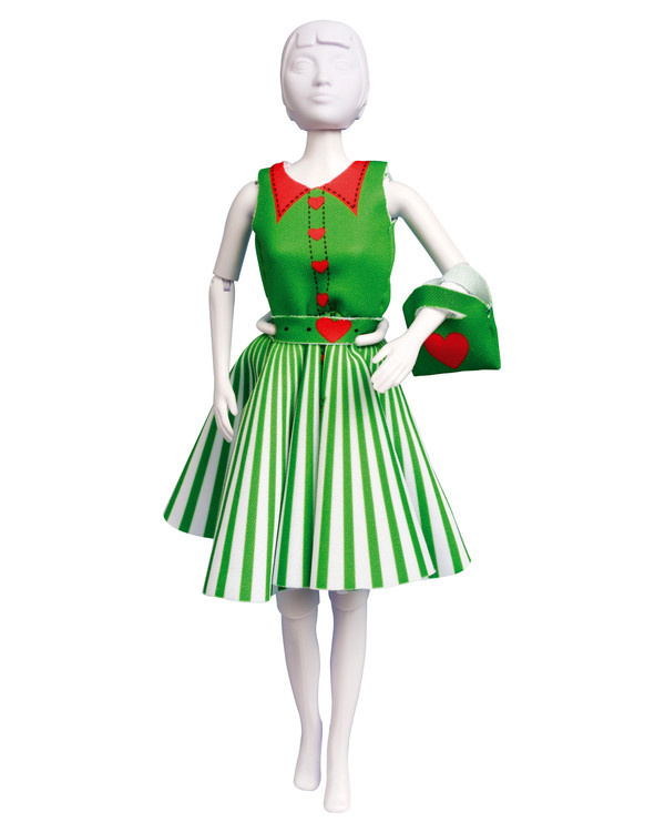 Dress your doll Peggy hearts