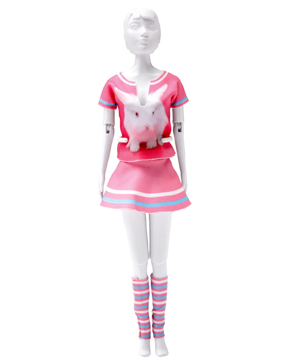 Dress your doll Outfit Tiny rabbit