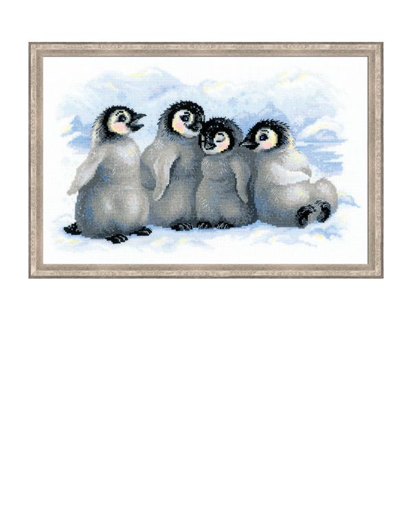 Broderipakke Bilde Pingviner