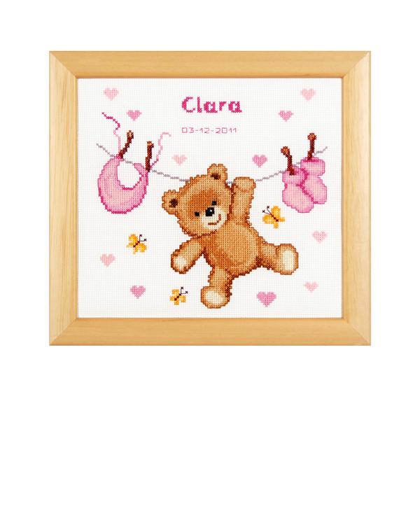 Fødselsbilde Teddybjørn